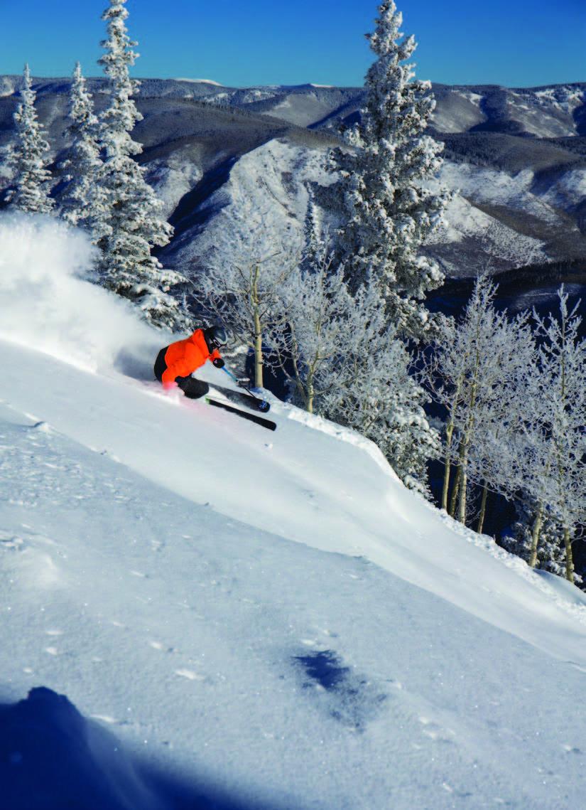 Snowmass skier