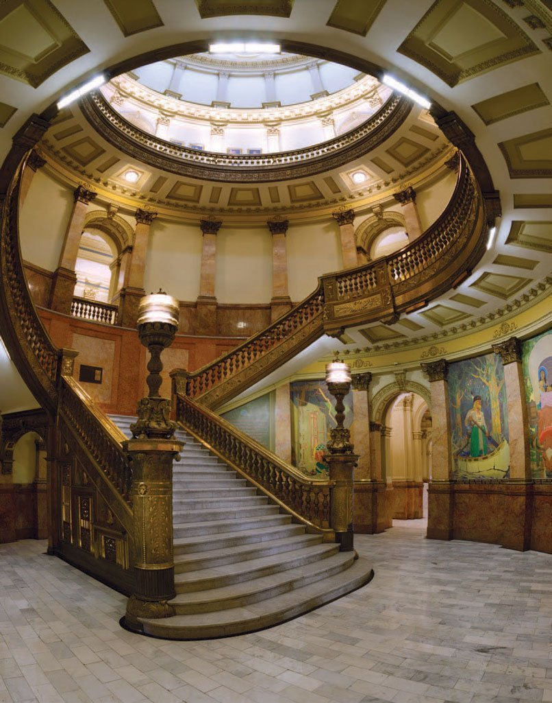 The inside of the Colorado Capitol