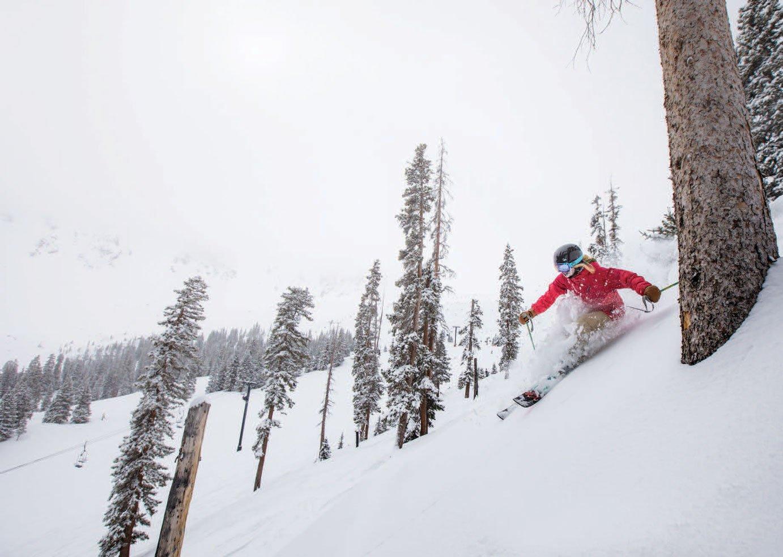 Skier at A Basin