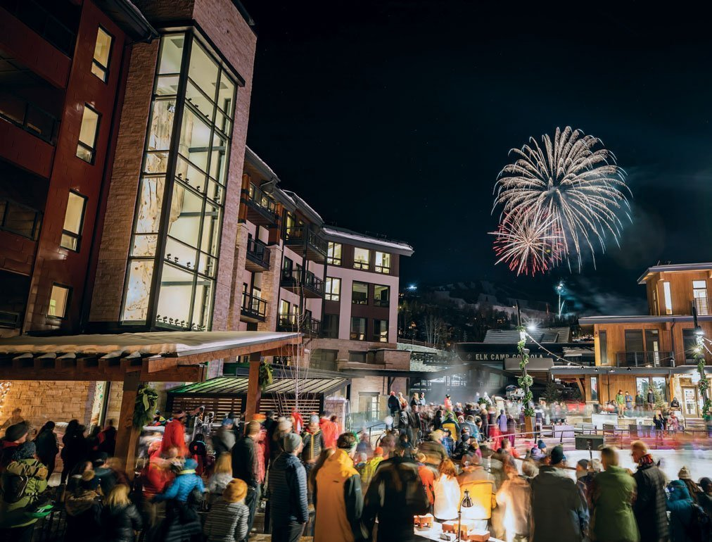 Fireworks in Snowmass