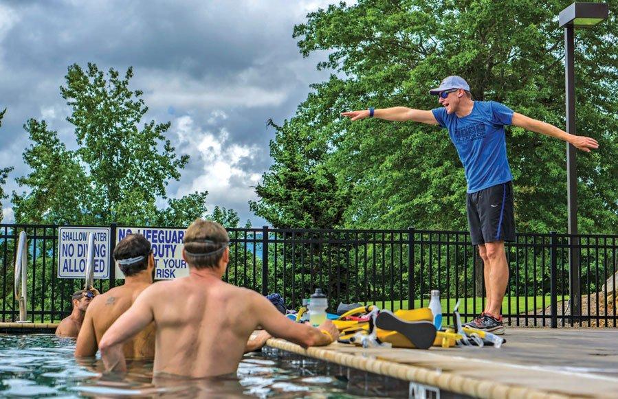 Matt Dixon promotes a holistic method of training.