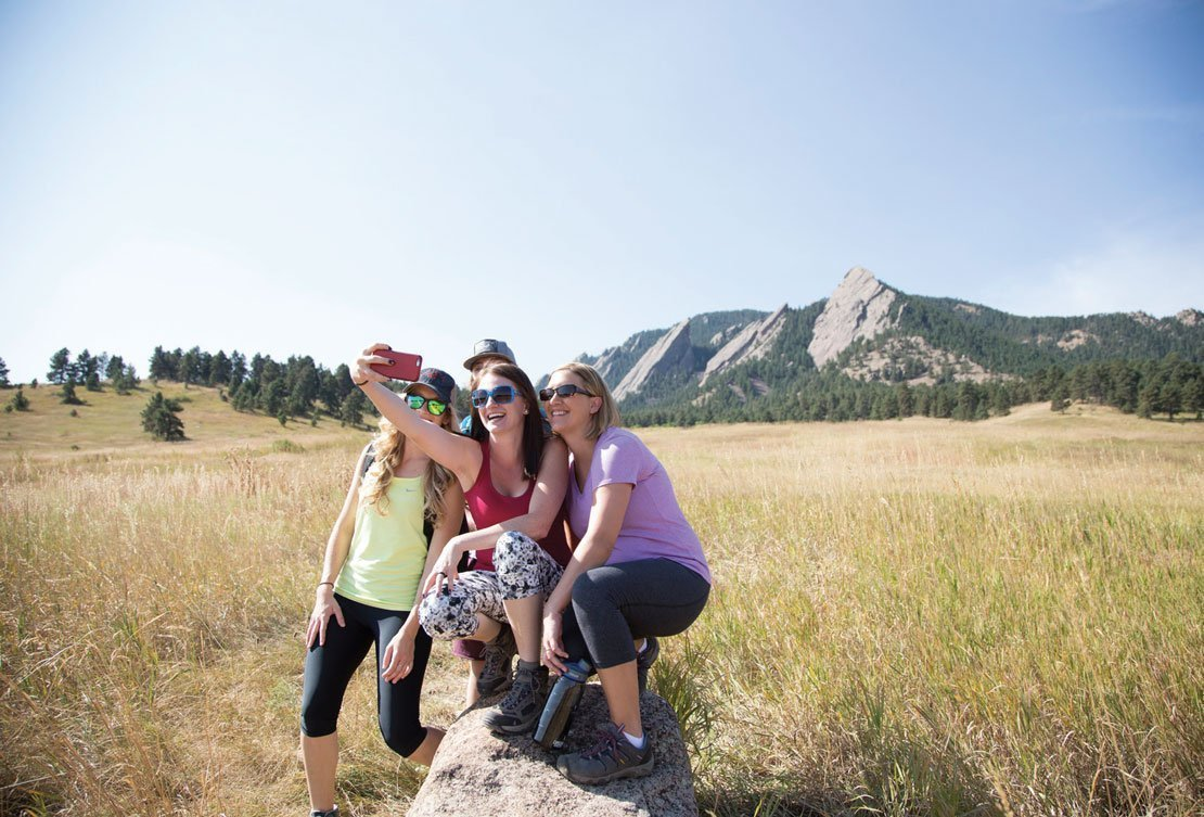 Hikers at chautauqua