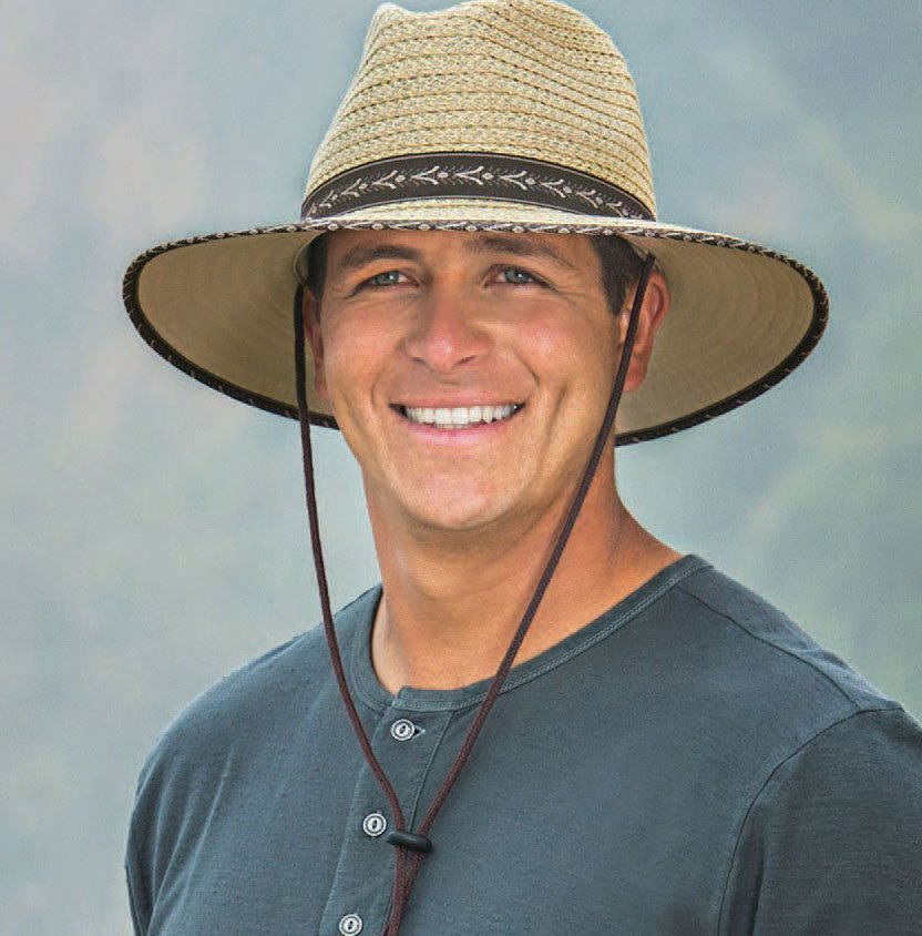 A men's hat from Wallaroo Hat Company.