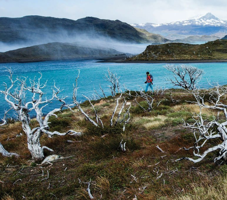 A hike through Patagonia.
