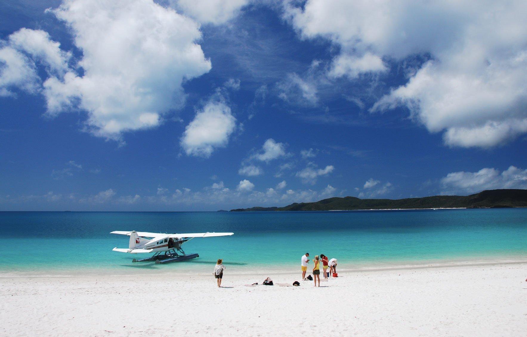 Seaplane picnic