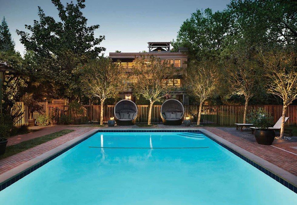 Gaige House + Ryokan pool.
