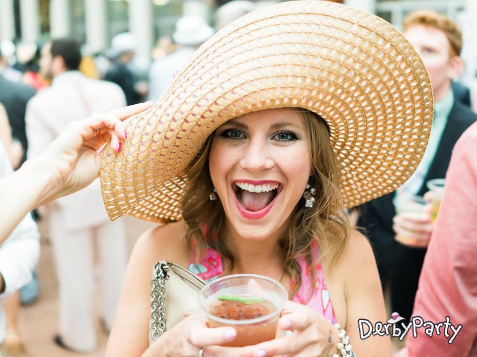 Lady in Big Hat