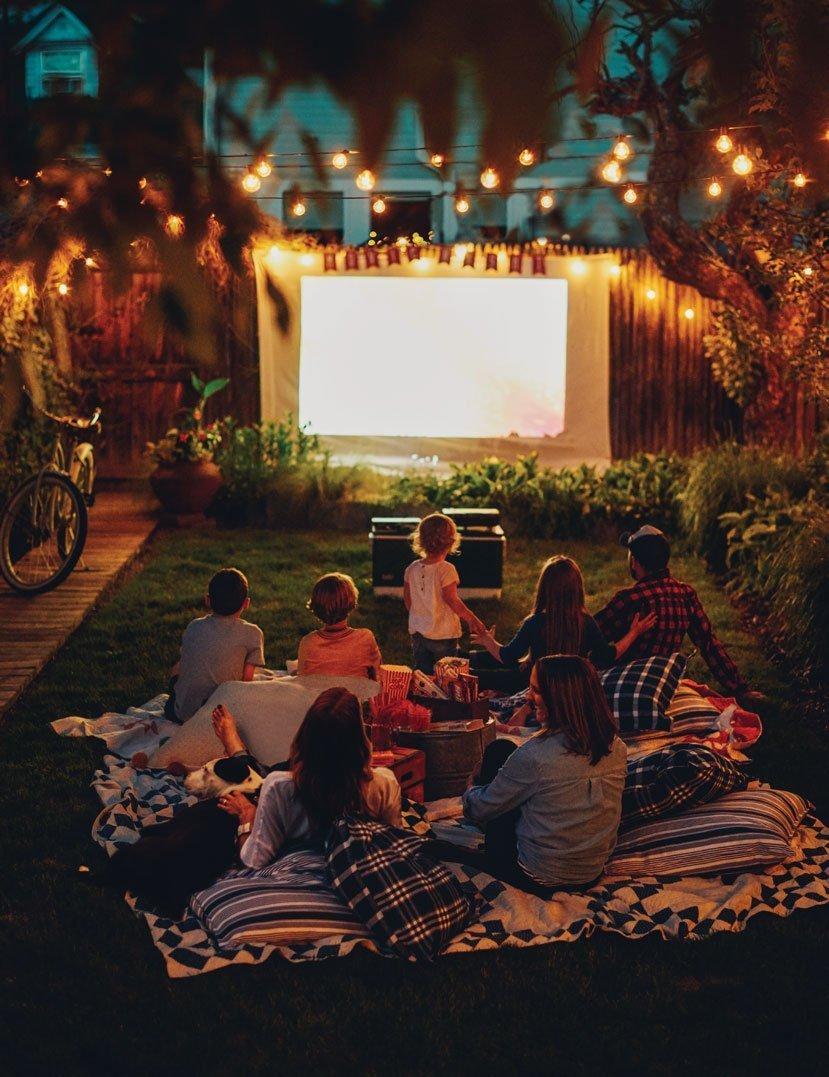 How to Plan a Backyard Movie Night | Denver Life Magazine